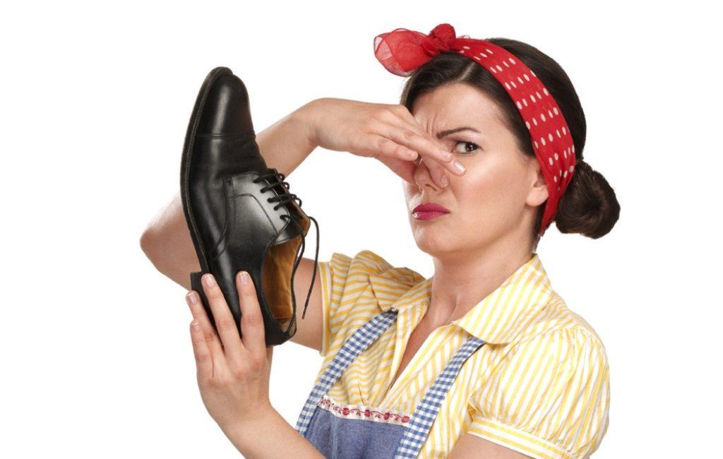 Неприятный запах резины от обуви