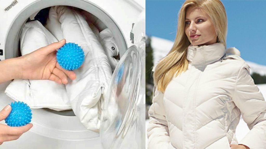 Стирка пуховика в стиральной машинке