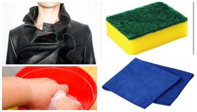 Как очистить куртку от засаленности