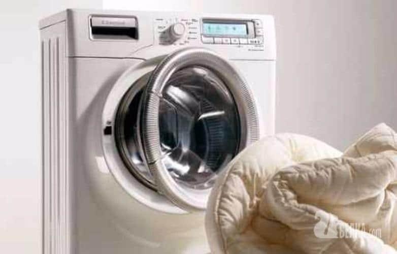 Стирка пухового одеяла в машинке