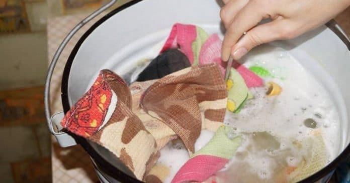 Стирка полотенец с растительным маслом