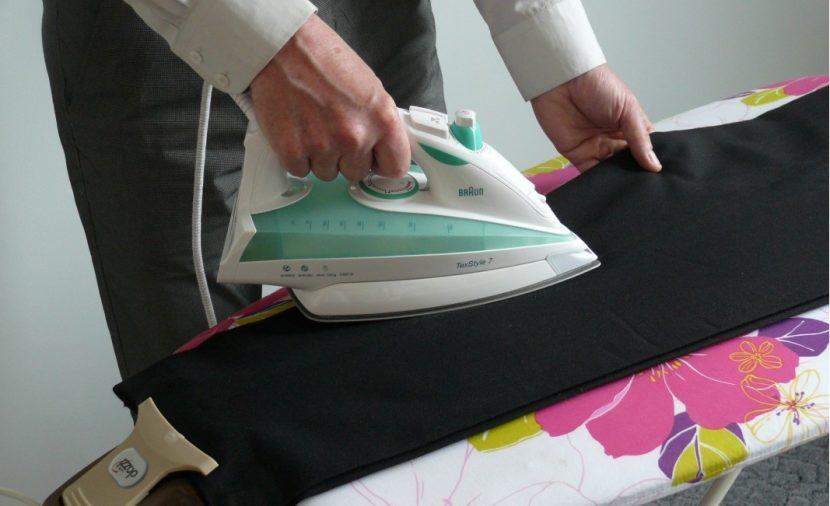 Наведение стрелок на брюки