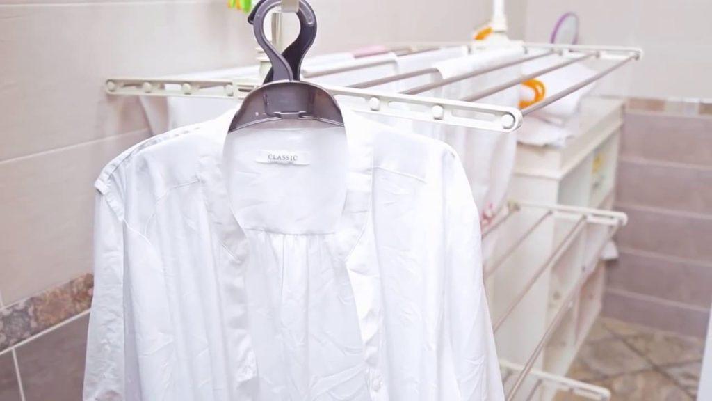 Как сушить рубашки