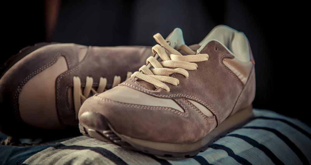 Обувь из замша