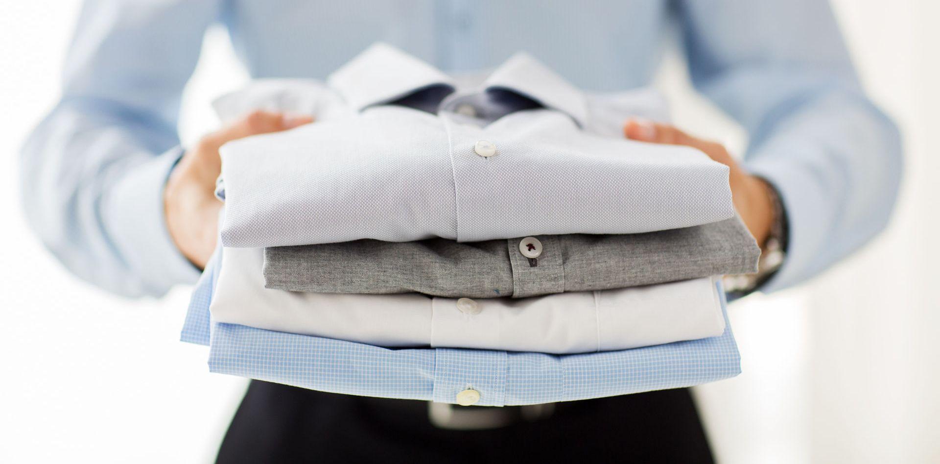Стиранные рубашки