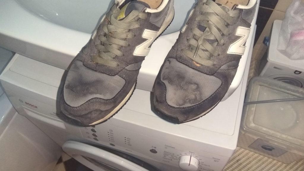 Стирка в машине обуви из замши