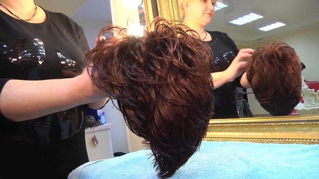 Подготовка парика к стирке