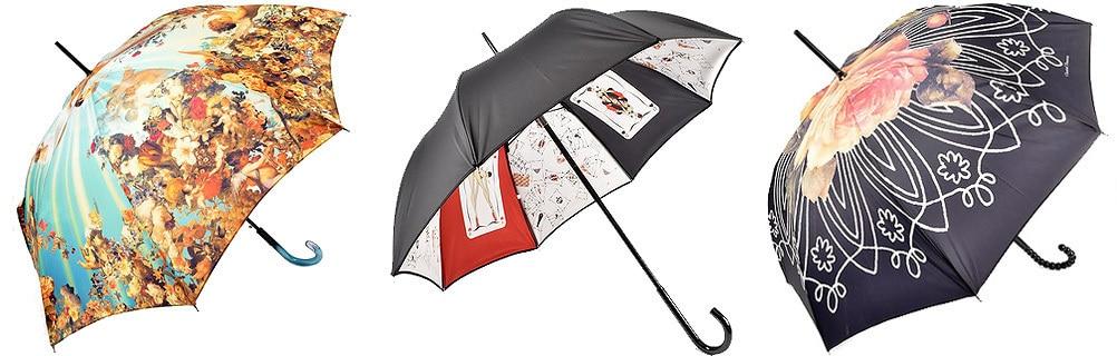 Различные типы зонтов