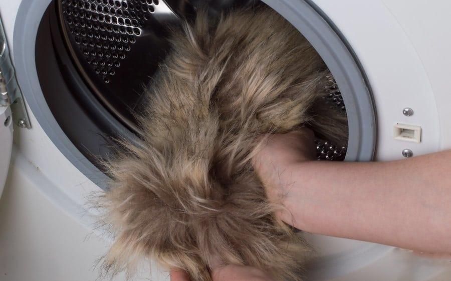 Стирка искусственного меха в машинке