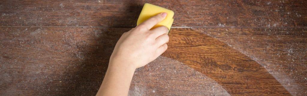 Пыль в помещении на мебели