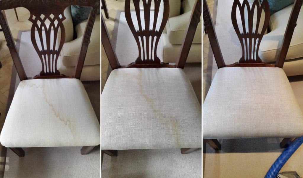 Как убрать пятна с обивки