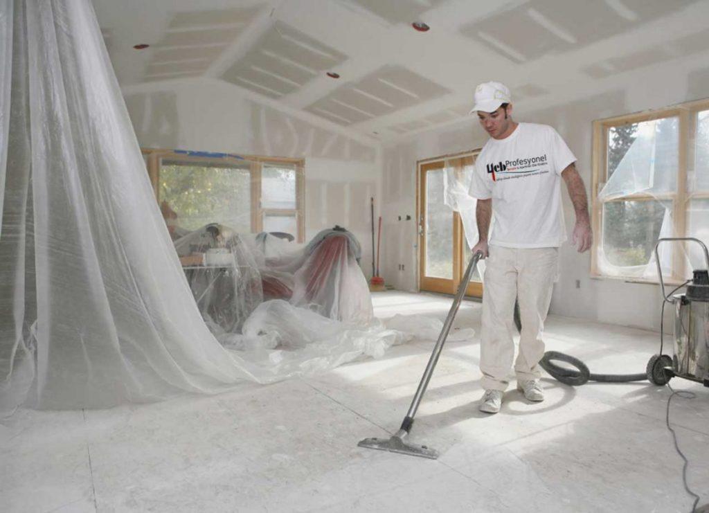 Пыль после ремонта
