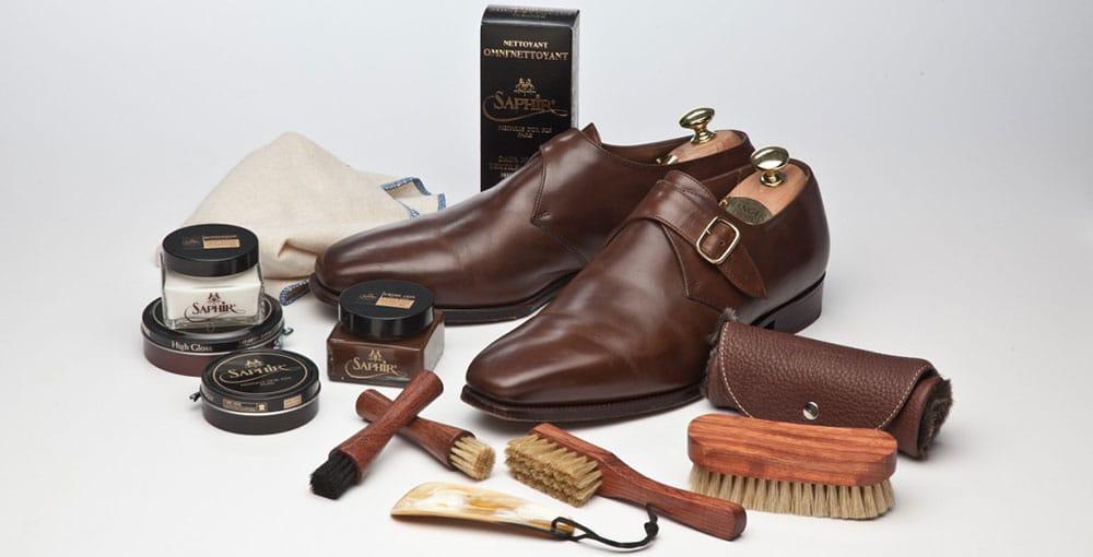 Средства для чистки кожаной обуви