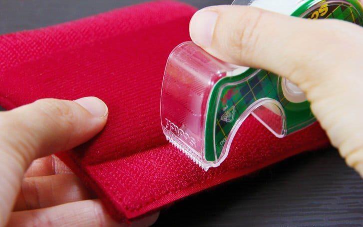 Подручные средства для очистки липучки