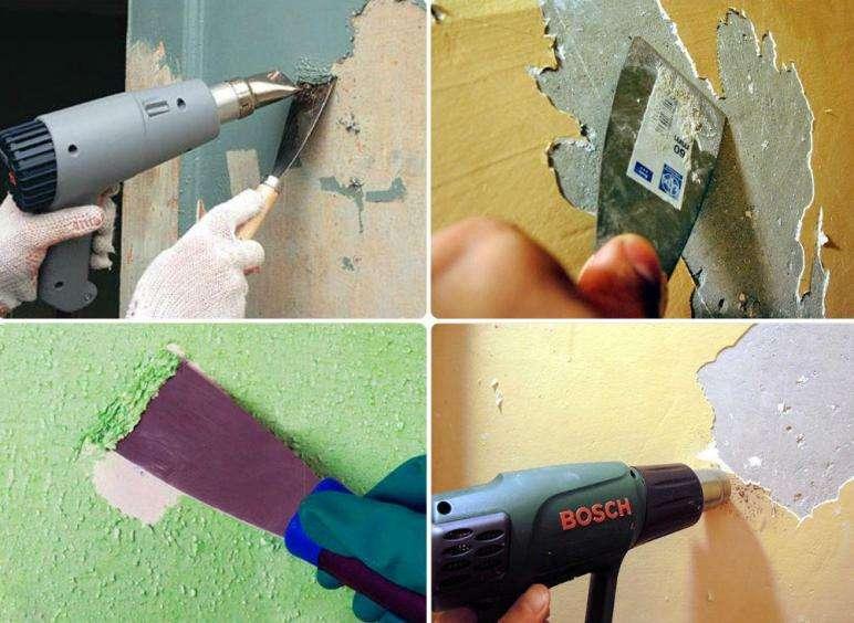 Механические методы очистки старой краски