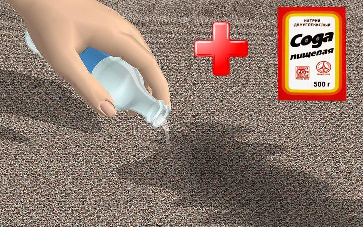 Очистка при помощи соды